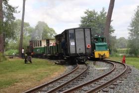 Train touristique du lac de Rillé