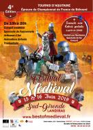 4ème édition du Festival Médiéval Sud Gironde