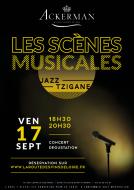 Les Scènes Musicales- Vendredi 17 septembre à Saumur