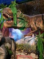 Le musée éphémère: Exposition de dinosaures