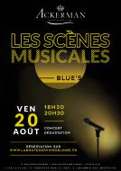 Les Scènes Musicales - Vendredi 20 août à Saumur