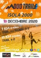 SNOW DUO TRAIL® MERCANTOUR | ISOLA 2000 HIVER : 7KM-15KM