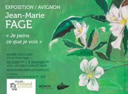 Exposition Jean-Marie Fage, «je peins ce que je vois»
