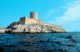 Baie de Marseille et château d'If