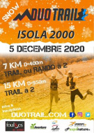 SNOW DUO TRAIL® MERCANTOUR | ISOLA 2000 HIVER : 7KM-15KM