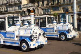 Le petit train touristique Marseille