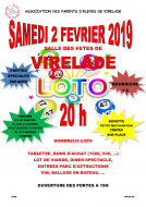 Loto de l'Association des parents d'élèves de virelade