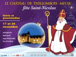 Le château de Thillombois fête Saint-Nicolas