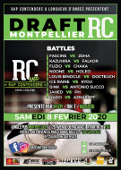 Draft Rap Contenders Sud - Montpellier