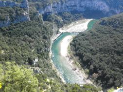 Descente de l'Ardèche en Canoë Kayak
