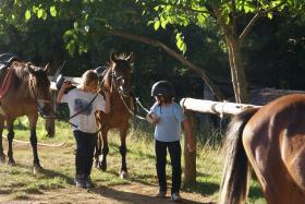 Découverte - Balade à cheval spéciale familles