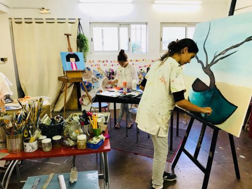 Stage de peinture pour enfants