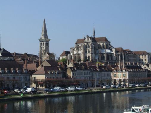 Abbaye Saint Germain d'Auxerre.