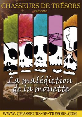 """Chasse aux trésors """"La malédiction de la mouette"""""""