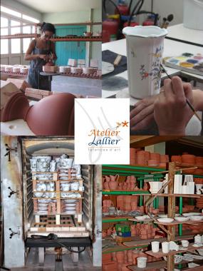 Visite guidée des ateliers de fabrication de faïence à Moustiers ... 004ec2d12e9