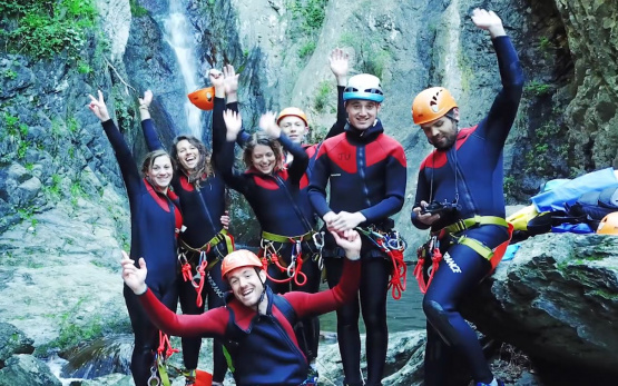 Canyoning et sport outdoor